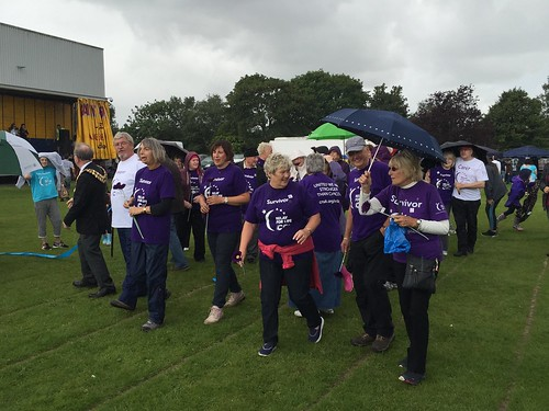 Today is all about...Stockport Relay for Life 2016