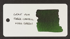 Graf von Faber Castell Moss Green - Word Card