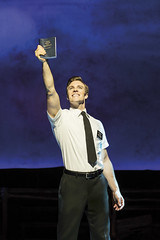 """Billy Harrigan Tighe in the Broadway Sacramento presentation of """"The Book of Mormon"""" at the Sacramento Community Center Theater March 9 – 20, 2016.  Photo by Johan Persson."""