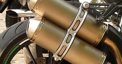 """Der Auspuff. Die Auspuffe. Der Auspuff des Motorrads. • <a style=""""font-size:0.8em;"""" href=""""http://www.flickr.com/photos/42554185@N00/28232534551/"""" target=""""_blank"""">View on Flickr</a>"""
