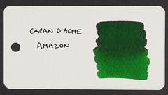 Caran d'Ache Amazon - Word Card