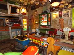 Quirky room inside Szimpla Kert ruin bar