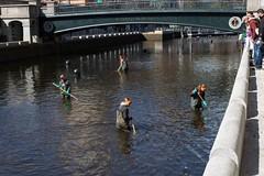 River Clean Up Volunteers