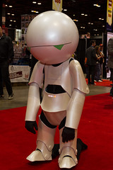 "Marvin the Paranoid Android #cosplay #C2E2 2015 • <a style=""font-size:0.8em;"" href=""http://www.flickr.com/photos/33121778@N02/16661111544/"" target=""_blank"">View on Flickr</a>"