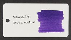 Noodler's Purple Martin - Word Card