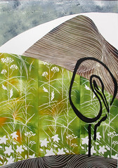 LAURA STOR, Ore giapponesi, Linoleum e presspan a più matrici, 2014