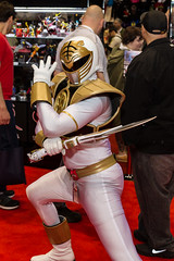"White Ranger #cosplay #C2E2 2015 • <a style=""font-size:0.8em;"" href=""http://www.flickr.com/photos/33121778@N02/17257470126/"" target=""_blank"">View on Flickr</a>"