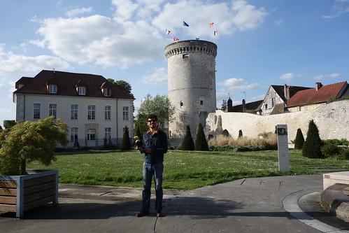 La dernière parcelle encore debout des murailles qui entouraient la ville de Vernon.