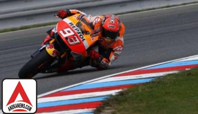 #Sports : Marquez Khawatirkan Cuaca di Inggris yang Cepat Berubah