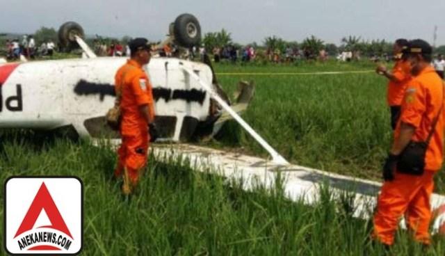 #Terkini: Pesawat Latih Jatuh Karena Mesin Mati Mendadak