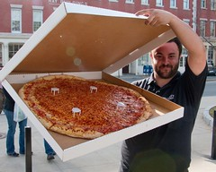Pizza for the Volunteers