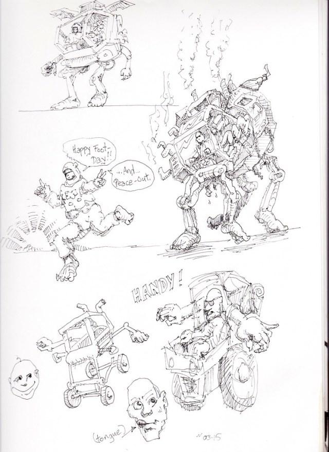 Footmobile Sketch-1