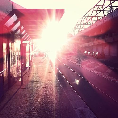 #Hackerstreet #0711 #Stuttgart #sunrise