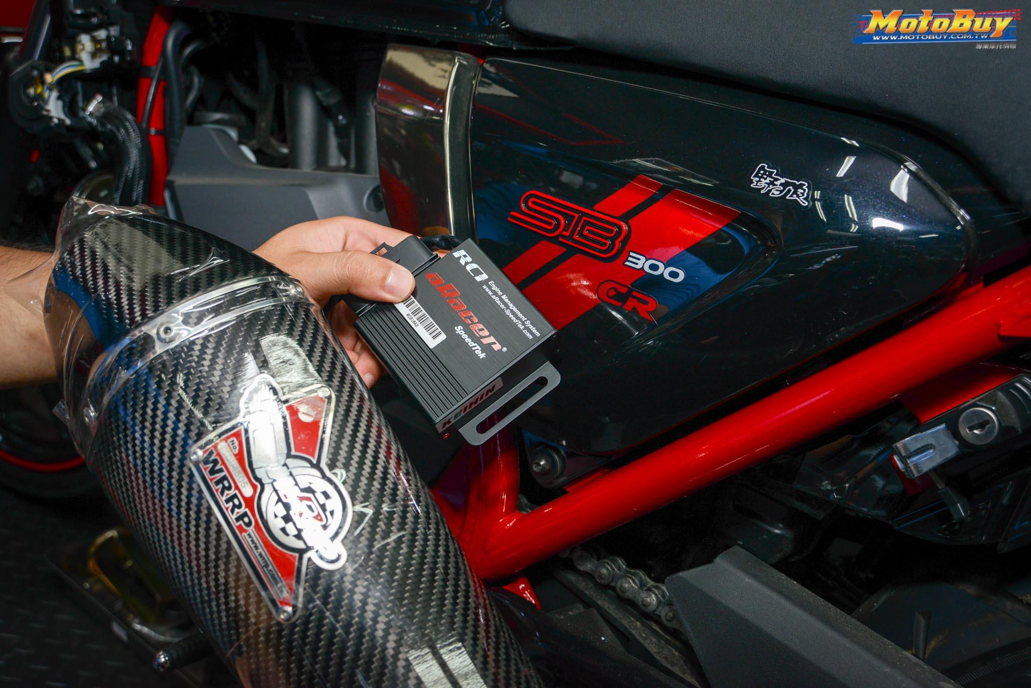 [改裝連載] 復古車也能很有力!aRacer ECU X SB300CR X武田車業   MotoBuy