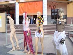 Mannequininfrontoftheater