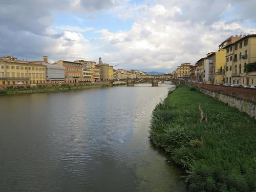 Il fiume Arno a Firenze