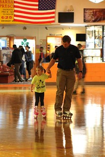"And now for a montage of ""Daddy/Daughter"" skating . . ."