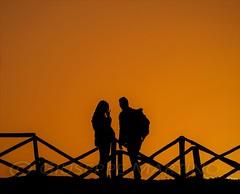 io te e il tramonto...