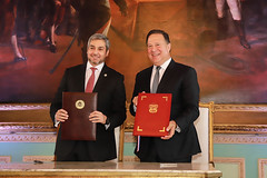 Visita oficial al Paraguay del presidente de la República de Panamá