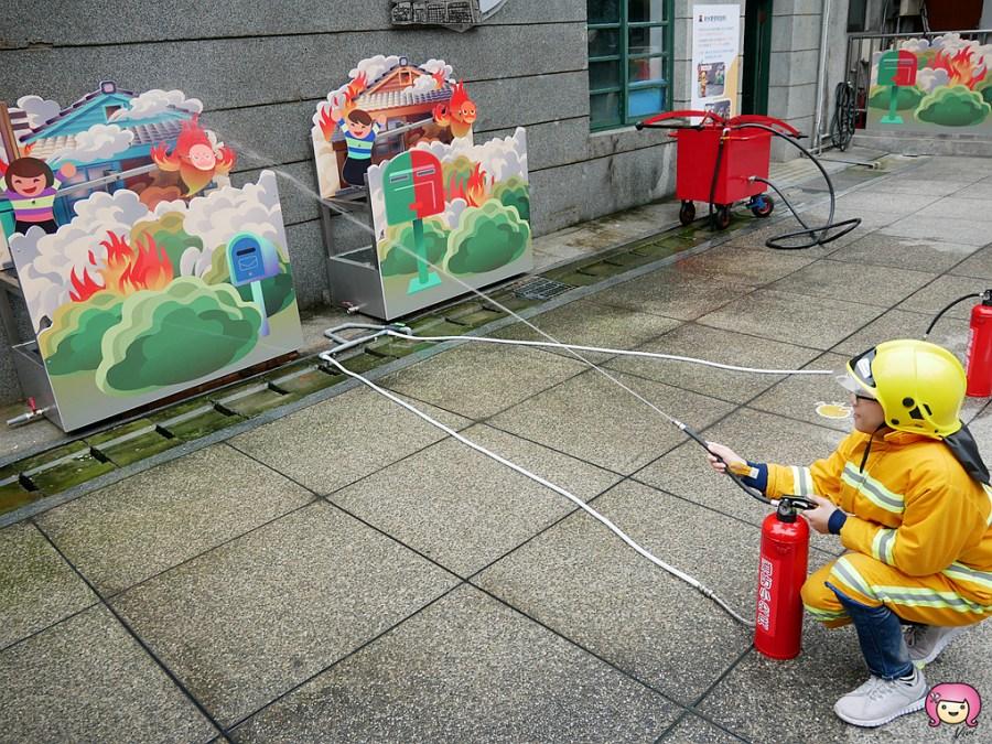 [新竹旅遊]新竹消防博物館.免費入場|適合親子同遊寓教娛樂的好地方~新竹美術館.飄浮的地球<蓋亞> @VIVIYU小世界
