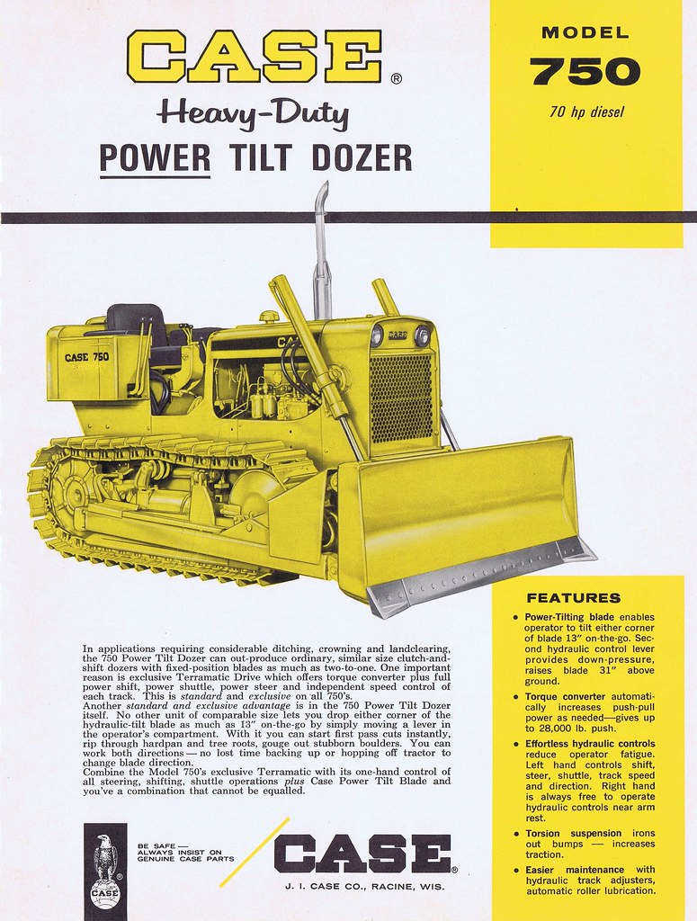 hight resolution of case 750 1966 runabout63 tags case 750 dozer