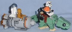 Lego - 75228 Escape Pod vs. Dewback Microfighters