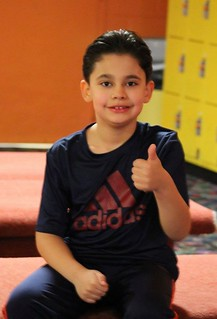 . . thumbs up for TPA Skate Night FUN!
