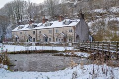 Blackwell Mill Cottages, Cheedale Near Buxton, Derbyshire