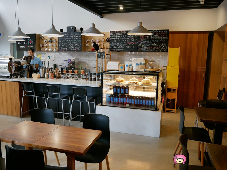 林口55號咖啡,林口咖啡,林口甜點,林口美食,桃園咖啡,桃園美食,黑龍珠冰拿鐵 @VIVIYU小世界