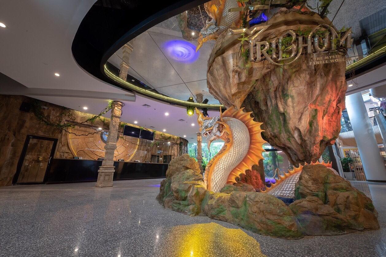 [普吉景點]全球首座 3D 主題公園TRIBHUM|雨天備案Central Phuket.互動式設計樂園 @VIVIYU小世界