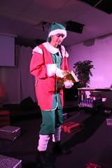 Kersttoneel: Sad Santa