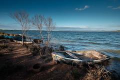 End of the day at lake El Salto.