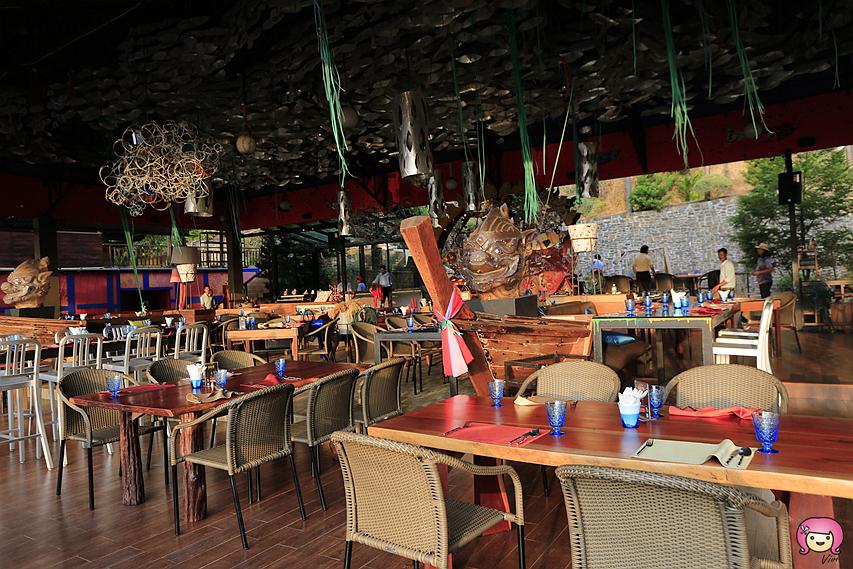 [喀比美食]Lae Lay Grill.喀比(KRABI) 夕陽美景最佳景觀餐廳.鄰近澳南海灘旁 @VIVIYU小世界