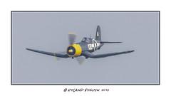 Corsair in level flight