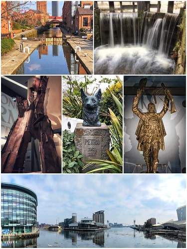 Today is all about...the walking tour of Salford & Manchester