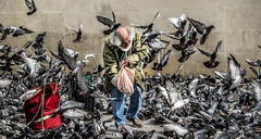 Paris Pompidou street photography