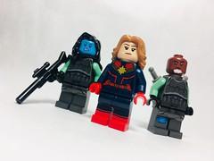 Minerva, Carol & Korath   Captain Marvel