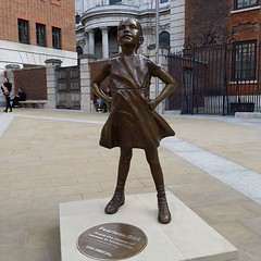 Fearless Girl, London