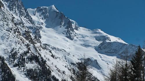 Grand Paradis et glacier de Laveciau