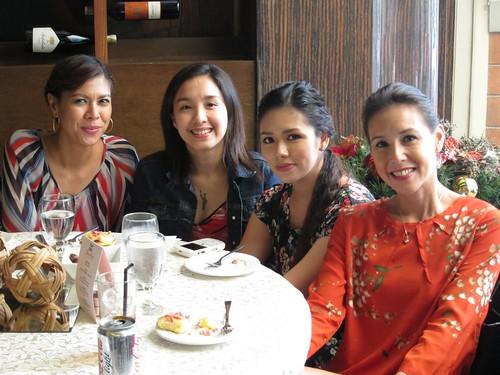 Suzi, Barbie, Danica & Christine