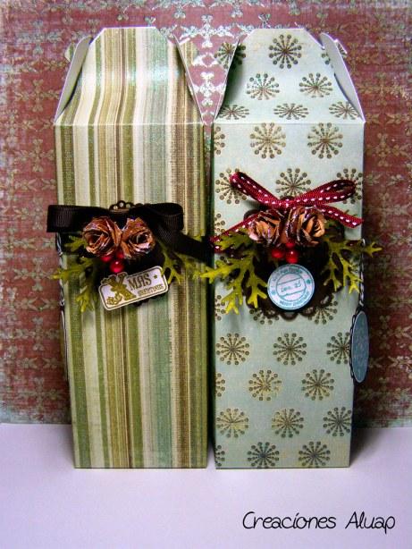 Cajas regalo navidad - Christmas gift boxes