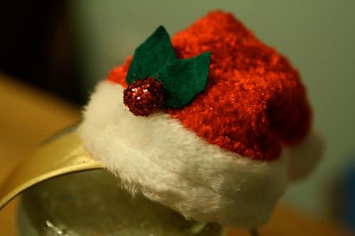 Santa Hat Fascinator