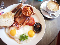 Breakfast, Fidel's Cafe, Essex Street, Fremantle