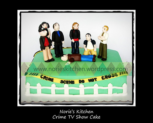 Norie's Kitchen - Crime TV Show Cake by Norie's Kitchen