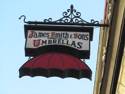 James Smith & Sons Umbrellas