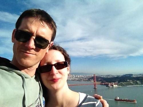 Me & Ben with the Golden Gate Bridge