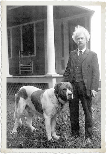 The more I know about people, the more I like my dog ~ Mark Twain