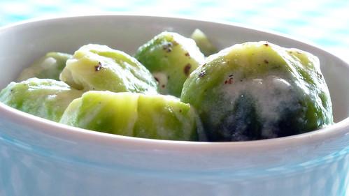 Creamy Brussell sprouts - Cavoletti di bruxelles cremosi