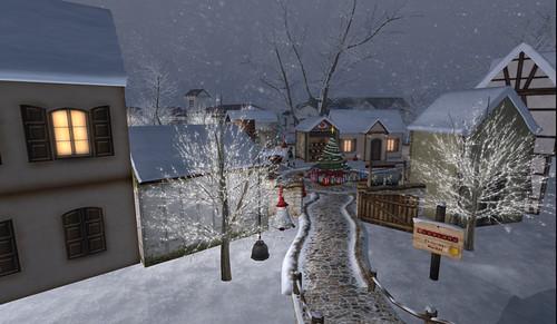 Christmas Village at Swayland
