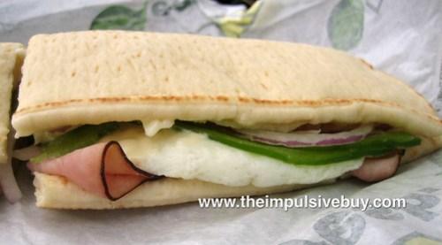 Subway Western Egg & Cheese Closeup